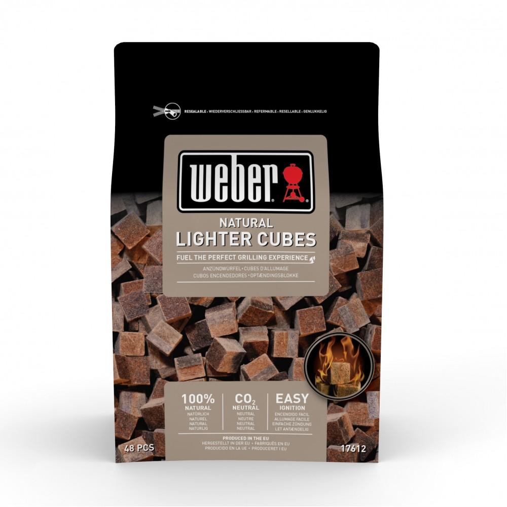 Кубики для розжига WEBER, 48 шт - 17612