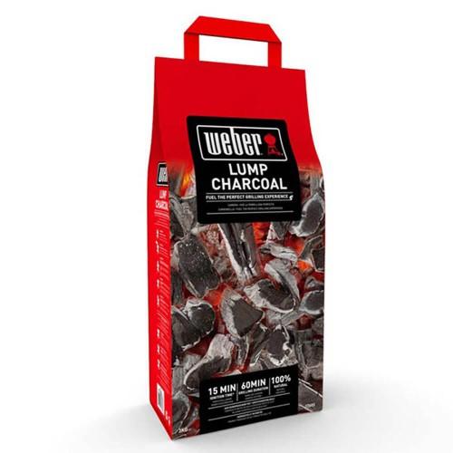 Древесный уголь для гриля Weber, 3 кг