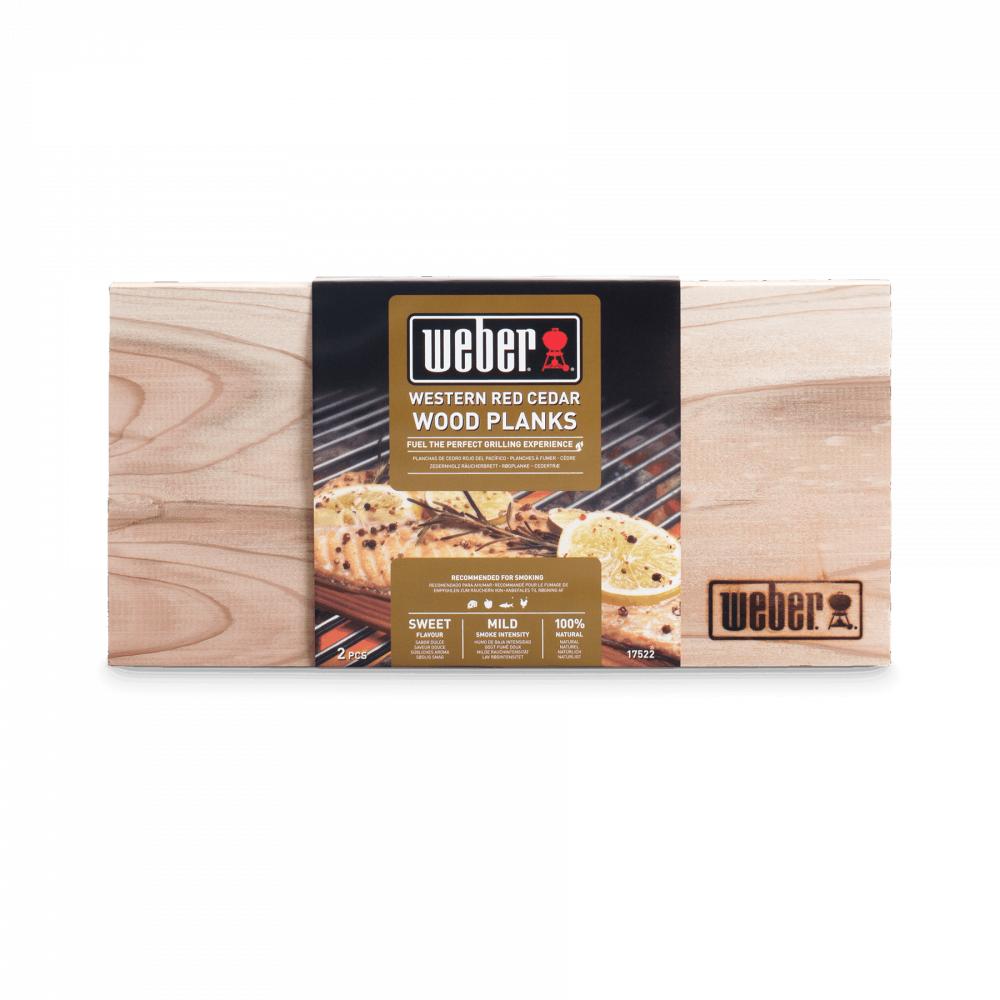 Кедровые доски для копчения Weber  - 17831
