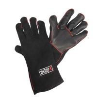Кожаные жаропрочные перчатки для гриля Weber