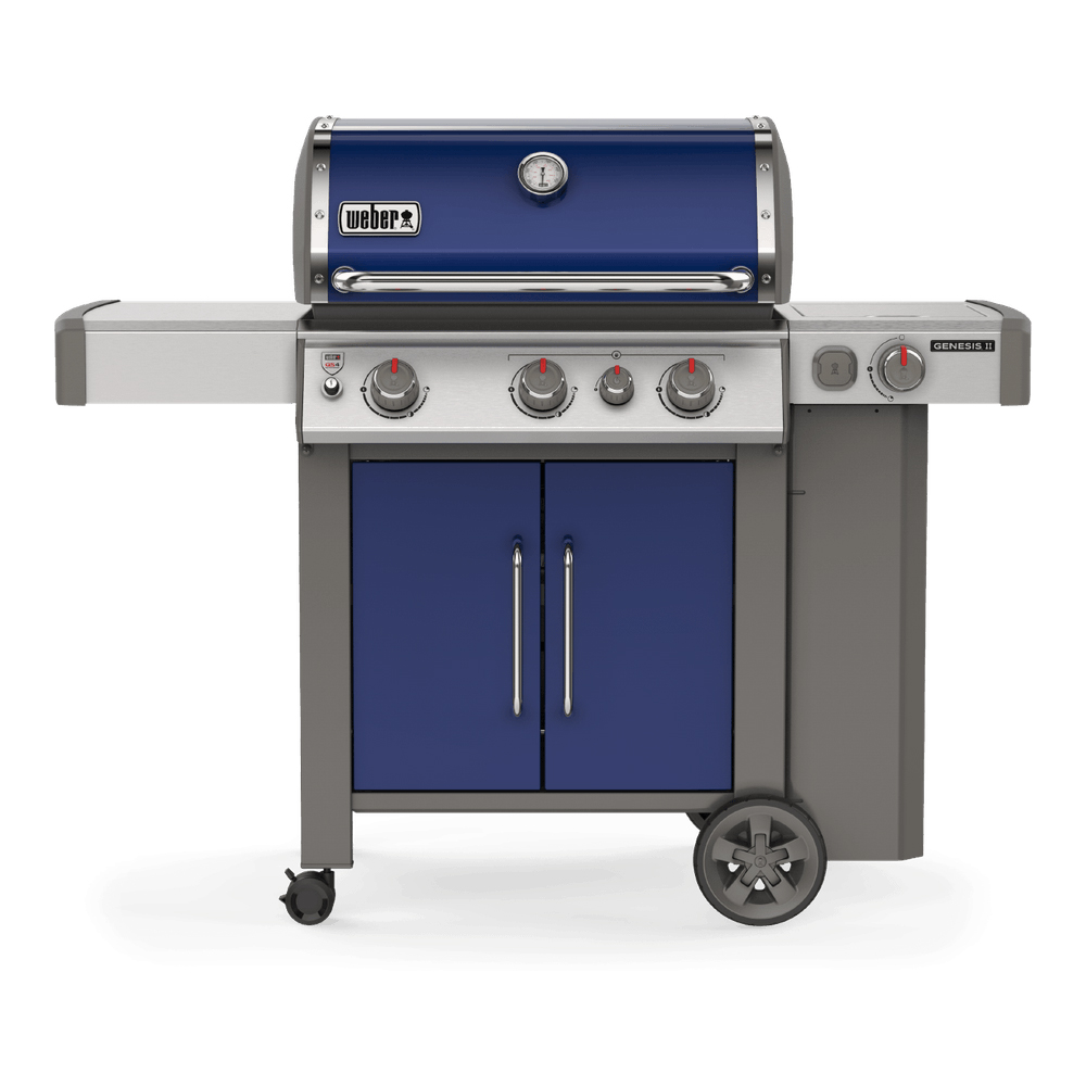 Газовый гриль Weber GENESIS II EP-335 GBS, синий - 61086175