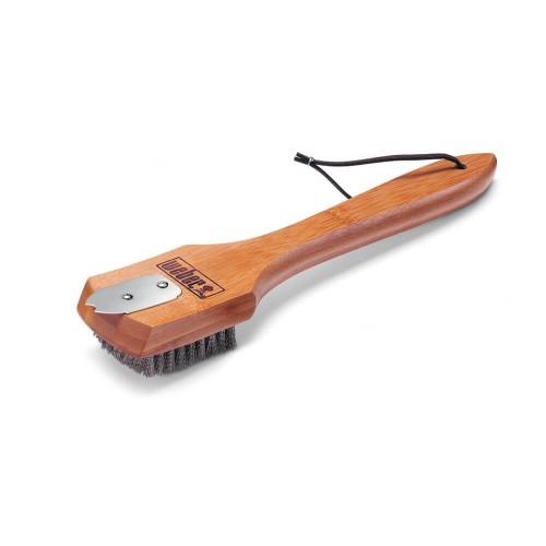Щетка для чистки гриля с деревяной ручкой Weber