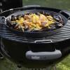 Чугунная сковорода Вок со вставкой-пароваркой и крышкой для Weber Gourmet BBQ System - 8856 фото_2