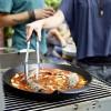Чугунная сковорода Вок со вставкой-пароваркой и крышкой для Weber Gourmet BBQ System - 8856 фото_3